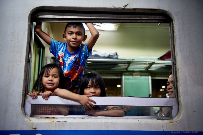 Kids on a Train